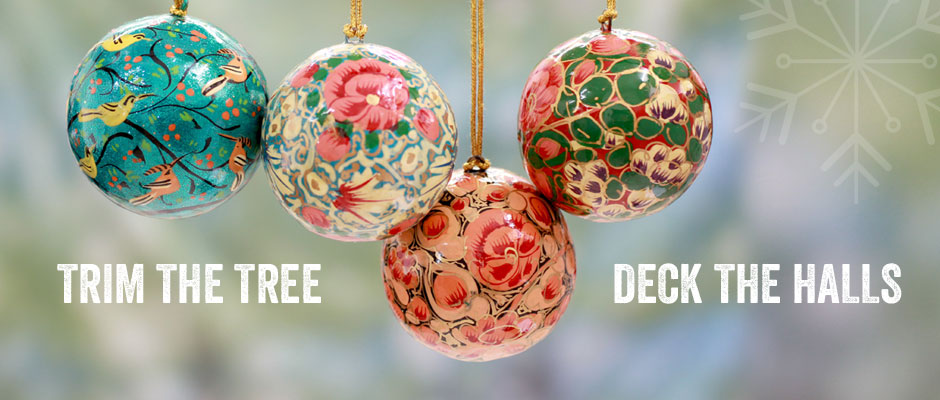 Holiday Ornaments - Trim the Tree and Deck the Halls