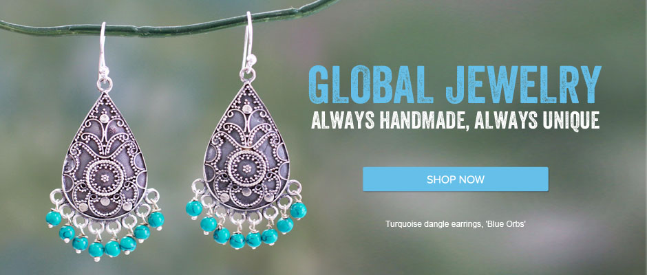 Handmade Global Jewelry - Shop Now!