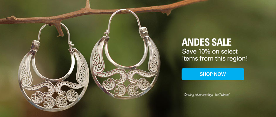 Andes Sale! Save 10% on select items from this region